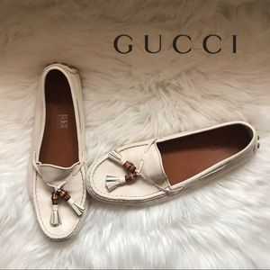 Authentic GUCCI Bamboo Tassel Loafers